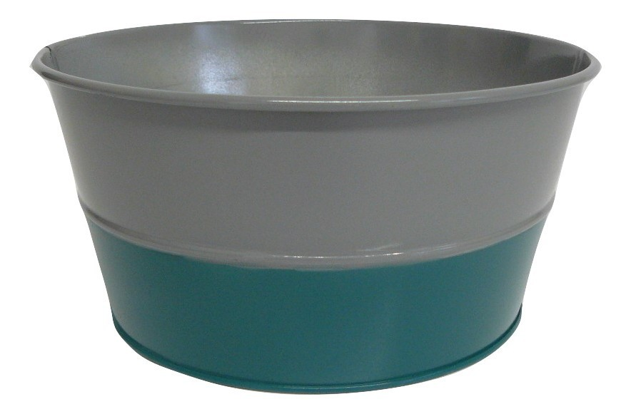 X09024 Grey and Teal Bowl
