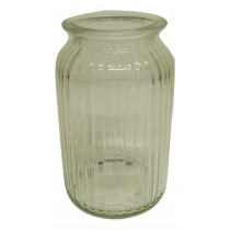 Ribbed Hand tie Vase