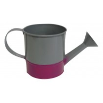 X09016 Grey and Cerise Watering Can