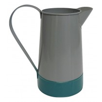 X09026 Grey and Teal Watering Can